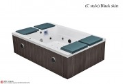 Vasca idromassaggio jacuzzi AT-026