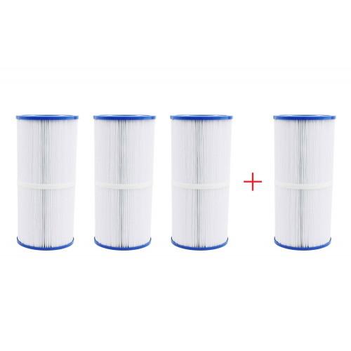 Confezione 4x3 filtri medio per vasca idromassaggio