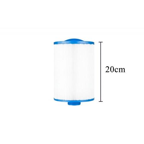 Confezione 4x3 filtri corto per vasca idromassaggio