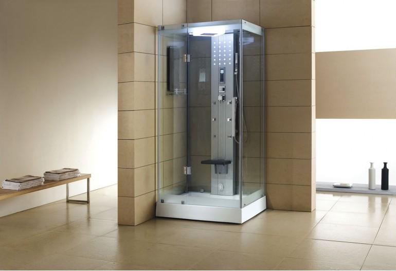 Doccia idromassaggio con sauna AS-005A-1