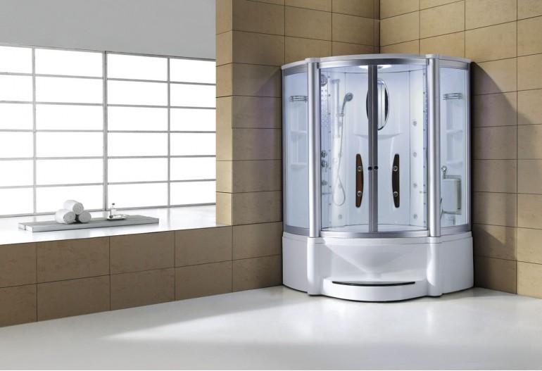 Doccia idromassaggio con sauna e vasca AT-010B