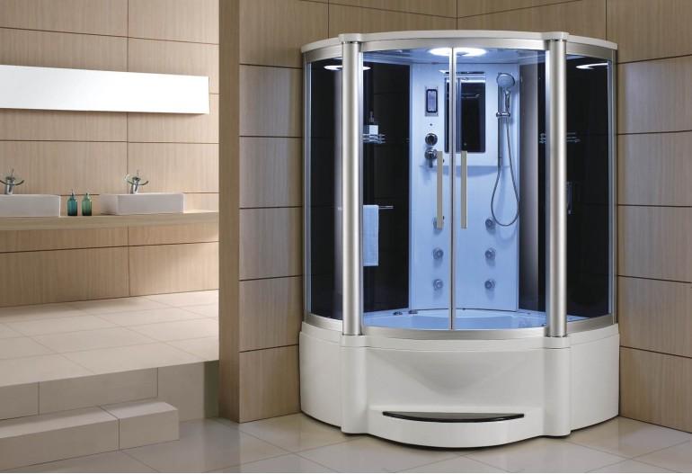 Doccia idromassaggio con sauna e vasca AT-011B