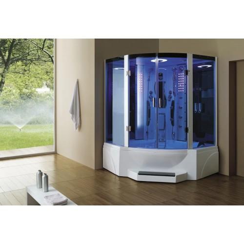 Doccia idromassaggio con sauna e vasca AT-011C
