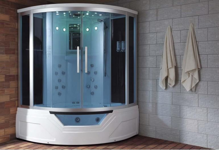 Doccia idromassaggio con sauna e vasca AT-012A