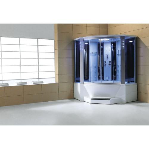 Doccia idromassaggio con sauna e vasca AT-012C