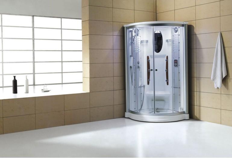 Doccia idromassaggio con sauna AS-011