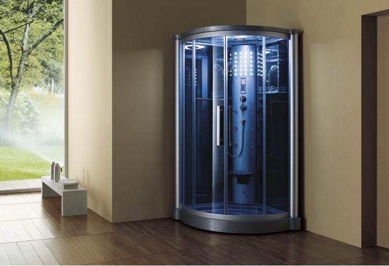 Doccia idromassaggio con sauna AS-012