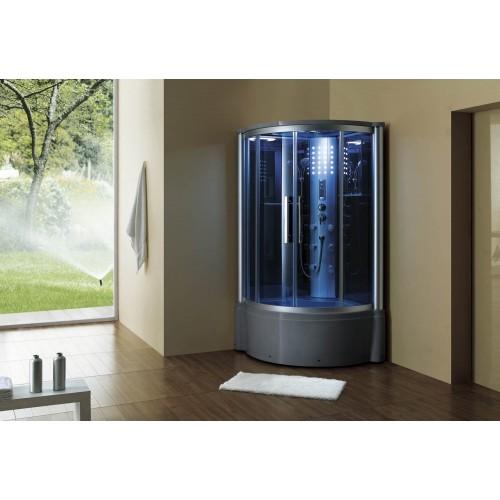 Doccia idromassaggio con sauna e vasca AT-013
