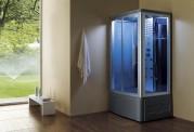 Doccia idromassaggio con sauna e vasca AT-014