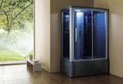 Doccia idromassaggio con sauna e vasca AT-015