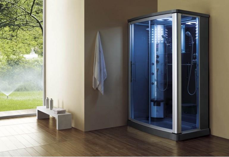 Doccia idromassaggio con sauna AS-016