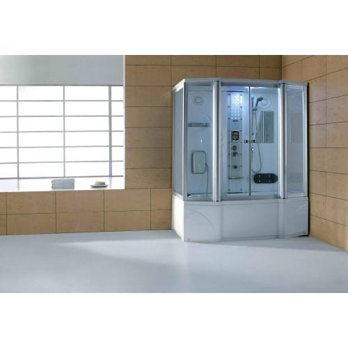 Doccia idromassaggio con sauna e vasca AT-016