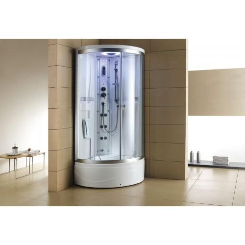 Doccia idromassaggio con sauna e vasca AT-001-1