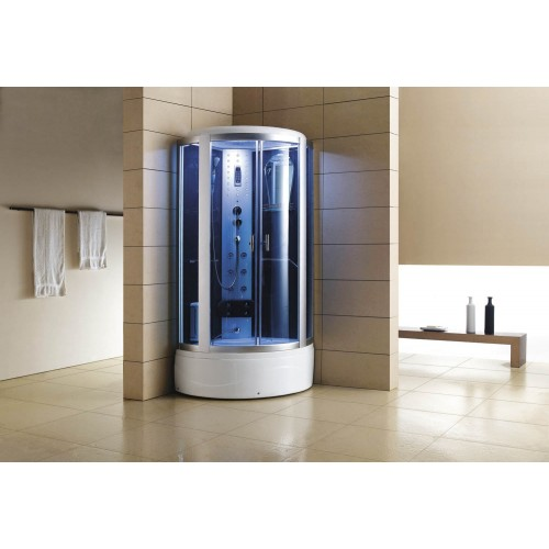 Doccia idromassaggio con sauna e vasca AT-002-1