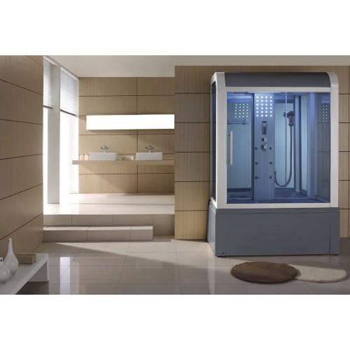 Doccia idromassaggio con sauna e vasca AT-009