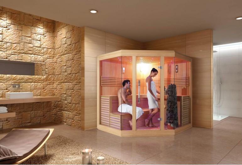Sauna finlandese premium AX-006B