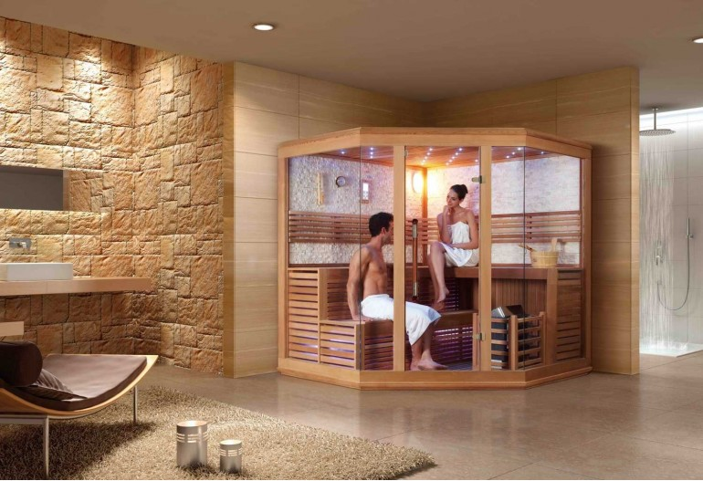 Sauna finlandese premium AX-015B