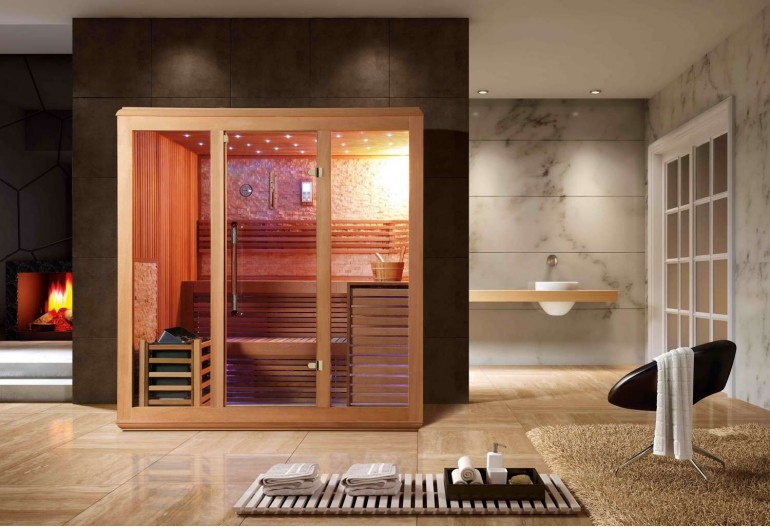 Sauna finlandese premium AX-016A