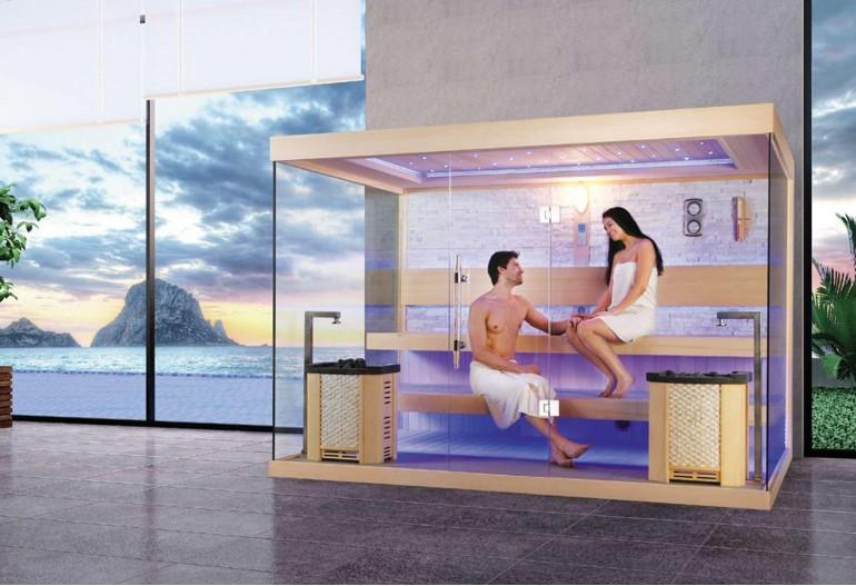 Sauna finlandese premium AX-021C
