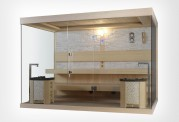 Sauna finlandese premium AX-021D