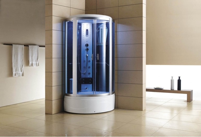 Doccia idromassaggio con sauna e vasca AT-002-2