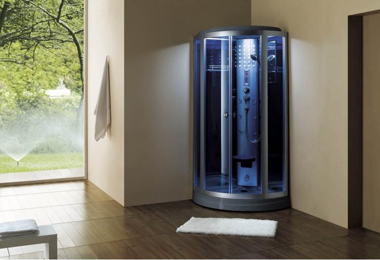 Doccia idromassaggio con sauna AS-018-2