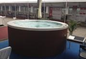 Vasca idromassaggio da esterno jacuzzi gigante AR-004