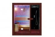 Sauna a secco + sauna umida con doccia AU-002B