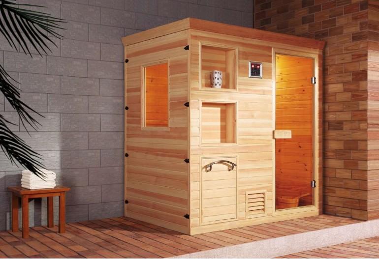 Sauna finlandese economica AR-002