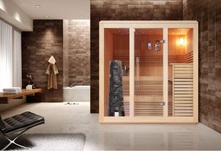 Sauna finlandese premium AX-007B